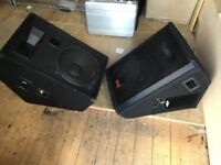 Wharfdale EVP- X12PM active 250w monitor and extension passive monitor