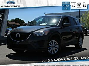 2015 Mazda CX-5 GX**AWD*CRUISE*A/C* BLUETOOTH**