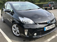 TOYOTA PRIUS 2012 62 plate T-SPIRIT WARRANTED MILEAGE prius with full TOYOTA SERVICE HISTORY CAT C