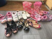 Girls bundle size 9 shoes