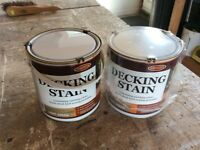 Decking Stain 2x2.5 litre tins Protek Light Green