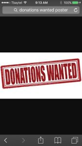 Donations wanted