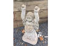Garden stone statue - Buddha