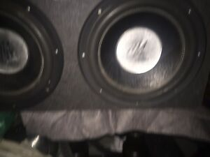 Subwoofer 2x12 ma audio + ampli 2400 watt