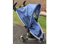 Quinny Zapp Stroller and Zapp xTra reclining seat