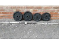 SOLID CAST IRON WEIGHTS SET