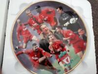 collectors plate liverpool fc