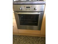 Electrolux built in single oven