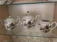 MANNA Japanese set. Tea pot, sugar and milk jug