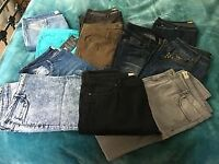 Wholesaling JOBLOT Brand New Alberto Jeans and Trousers