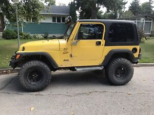 JEEP TJ - NOT SAFETIED