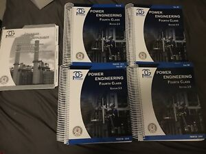 Power Engineering 4th Class textbooks
