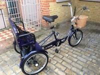 Trikidoo Tricycle- Bike for 3