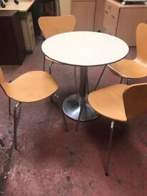 Bistro Table x 4 Chairs