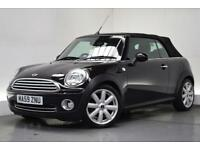 MINI CONVERTIBLE 1.6 COOPER 2d 120 BHP (black) 2009