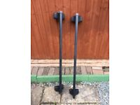 FOR SALE THULE ROOF BARS IN GOOD USED CONDITION MARK FROM STORAGE IN GARAGE