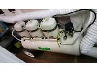 BAMBI SILENT DENTAL-MEDICAL AIR COMPRESSOR MD225/1000