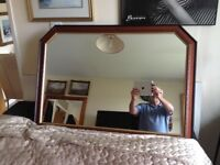 """Large Overmantle Mirror 41"""" x 28"""" in great condition"""