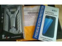 SAMSUNG GALAXY S8 RUGGED PHONE COVER SILVER/BLACK