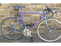 French Vintage road racing bike MBK Leader frame size 22inch - 12 speed Shimano, serviced WARRANTY