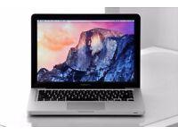"""2.4Ghz Core i5 13.3"""" Apple MacBook Pro 8GB 256GB SSD & 500GB HDD Logic Pro X Ableton Final Cut Pro"""