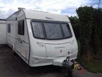 Coachman 550/5. 5 Berth family caravan 2008. Ready to drive on holiday
