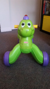 Musical Dino walker to ride on from Fisher Price