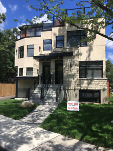 Brand new Luxurious semi near the Glebe -$3,950 + hydro
