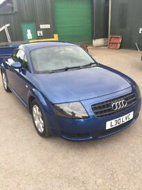 Audi TT 1.8 T COUPE 180PS (blue) 2005