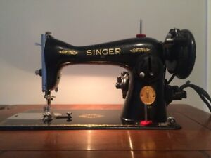 Machine a coudre / sewing machine SINGER 1948