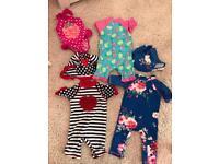 6-9 month uv girls swimsuits