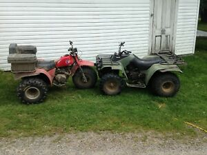 Looking to trade 200es for a quad.