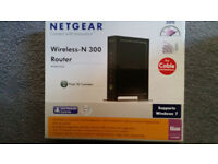 Fast Netgear Wireless N 300 router £12ono