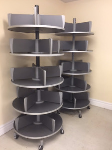 Rotating Shelving Units
