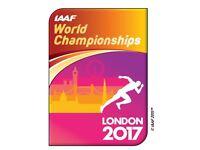 IAAF World Athletics Championships London 10th Aug 2017 . 200m Bolt. Category A. 10th Aug