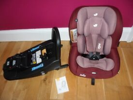 Joie iAnchor Advance car seat and isofix base