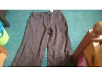 Brown h&m pants