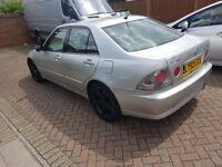 BARGAINN!! 2002 LEXUS IS200 AUTO WITH LONG MOT ONLY £650