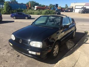 1996 volkswagen cabriolet in mint condition