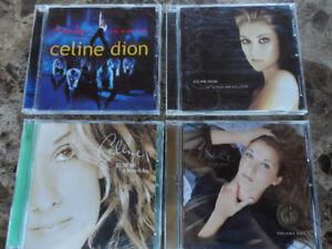 CELINE DION CDs