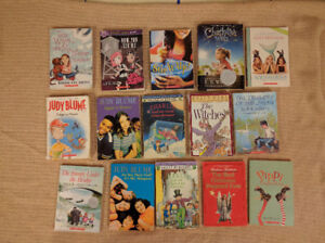 15 Pre Teen Chapter Books, Classics and Scholastic