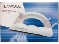 KENWOOD DISCOVERY DUO TRAVEL FOLDING STEAM IRON BNIB LESS THAN 1/2 PRICE