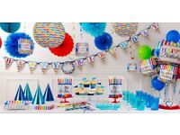 Buy 1st Birthday Party Supplies with Flat £6 OFF