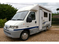 2001 2-berth Autocruise Stardream with U-shape lounge DEPOSIT TAKEN