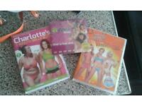 3 x fitness dvds