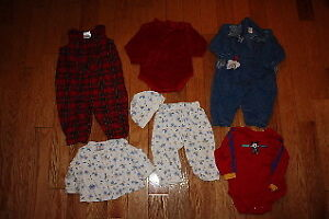 Girls size 6-9 month winter clothing