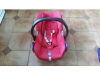 Maxi cosi car seat from birth