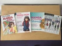 Manga Drawing Art Tutorial Books