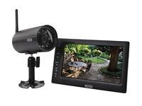 Abus TVAC14000A 7-Inch Home Video Wireless Surveillance Kit - Black