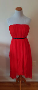 NEW without tags - Vero Moda Very Red Bustier Dress (Small)